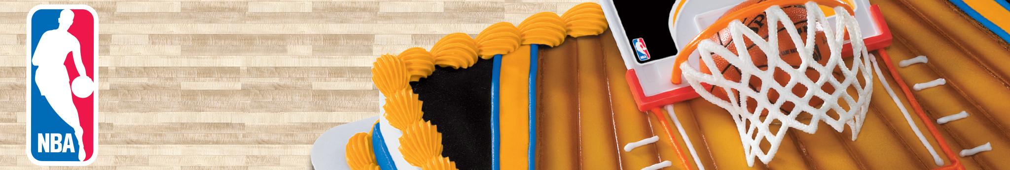 NBA Cake Decorations