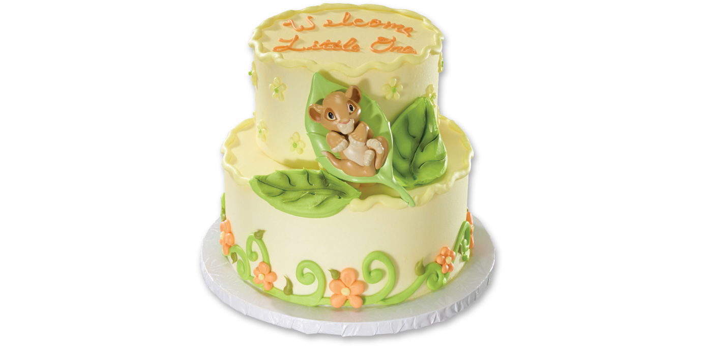 Edible Lion King Cake Decorations