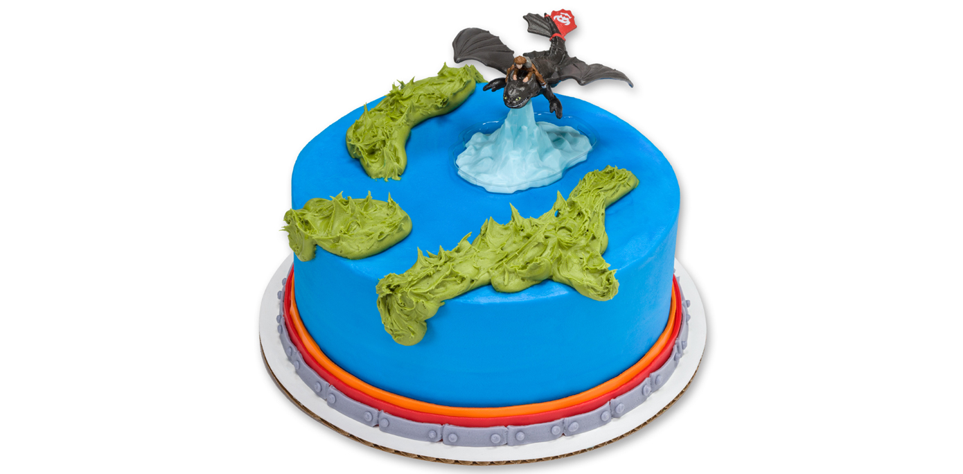 How To Train Your Dragon Cakes Toppers
