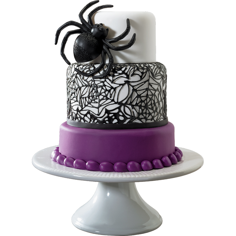 3D Spider Layon Web Cake