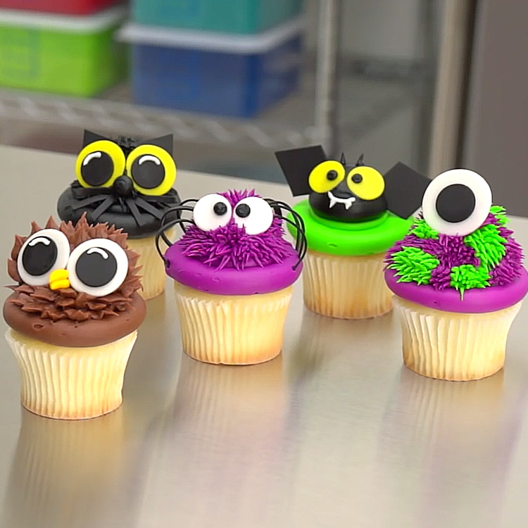 5 halloween cupcakes to boo tify the cake case decopac