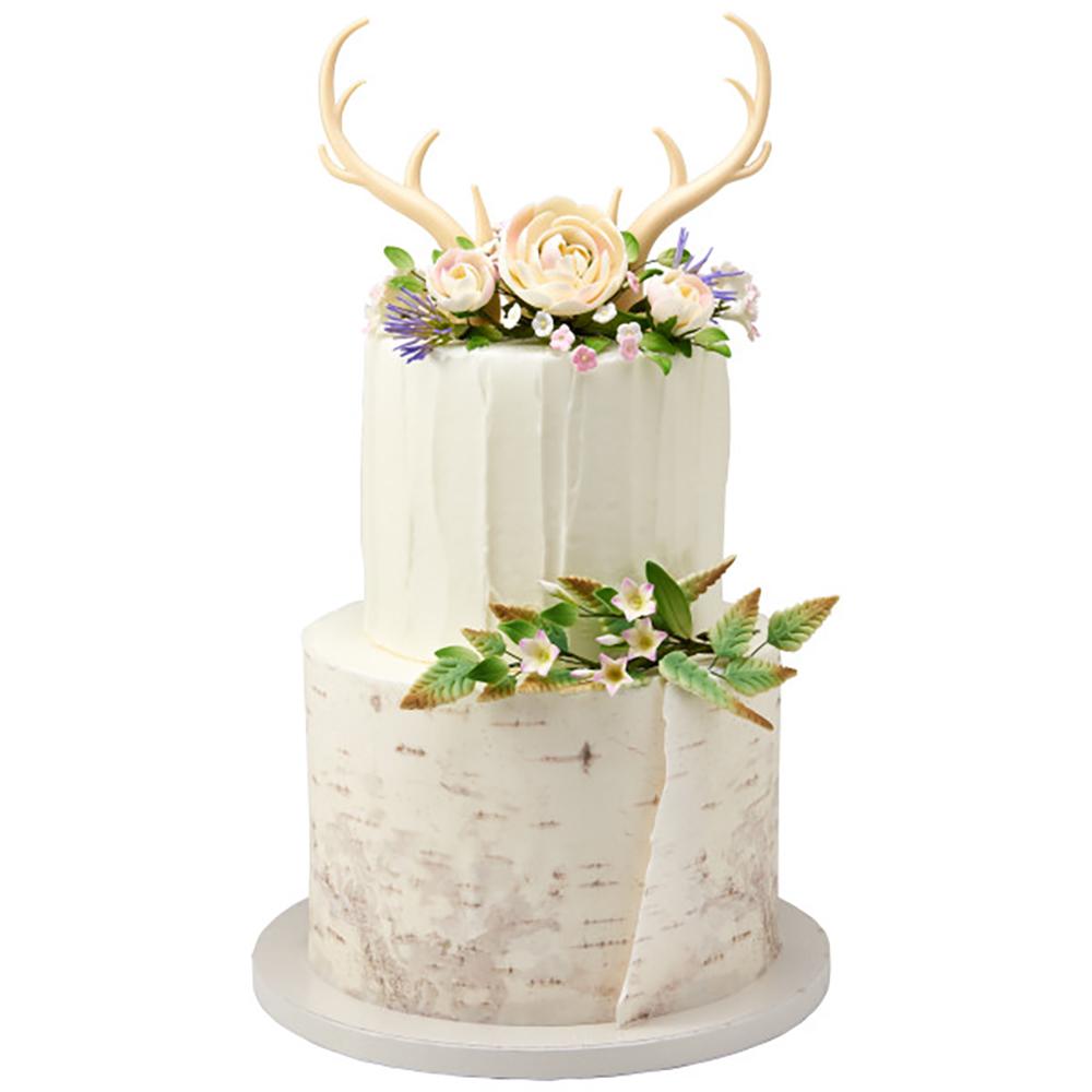 Antler Wedding Cake Design