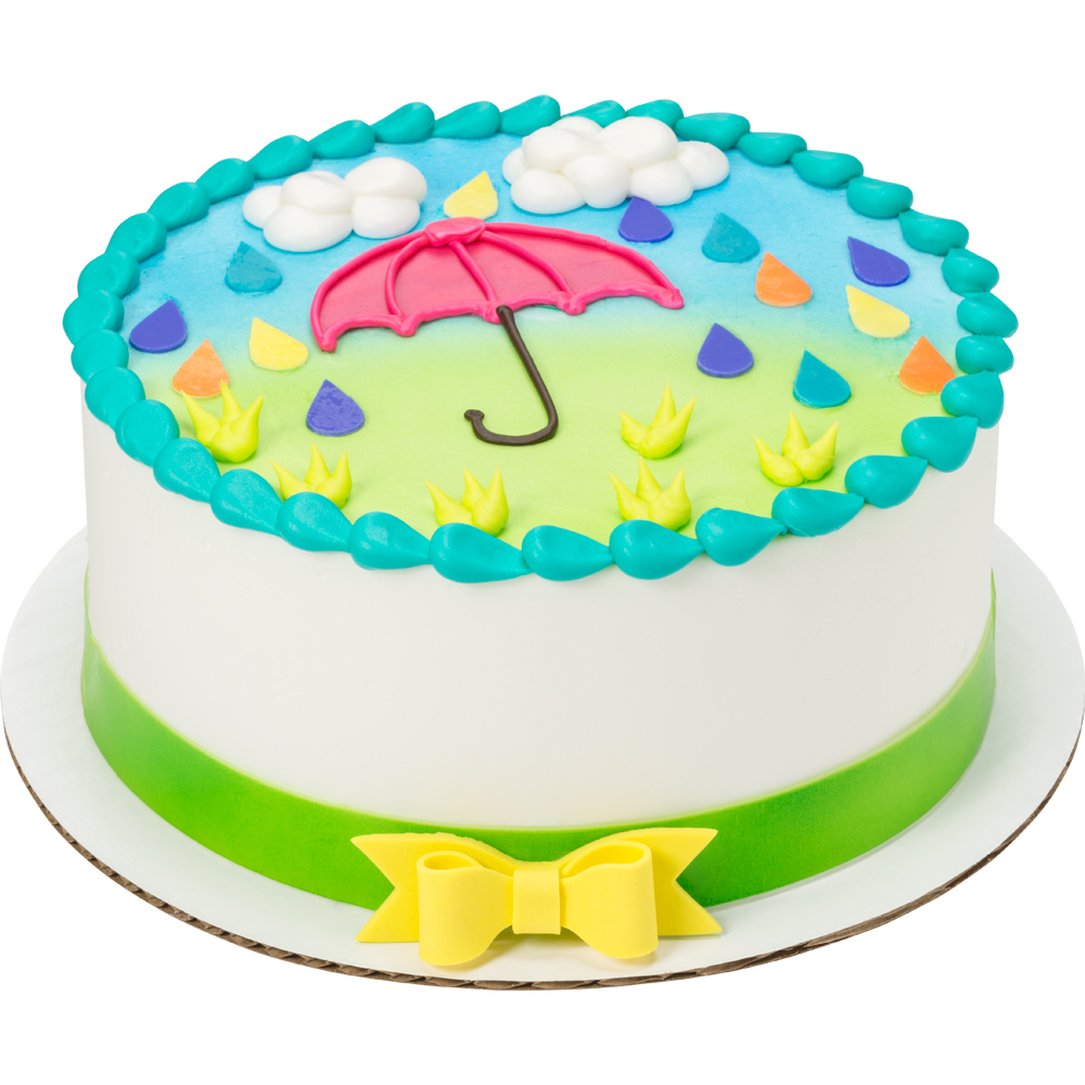 April Shower Cake Design