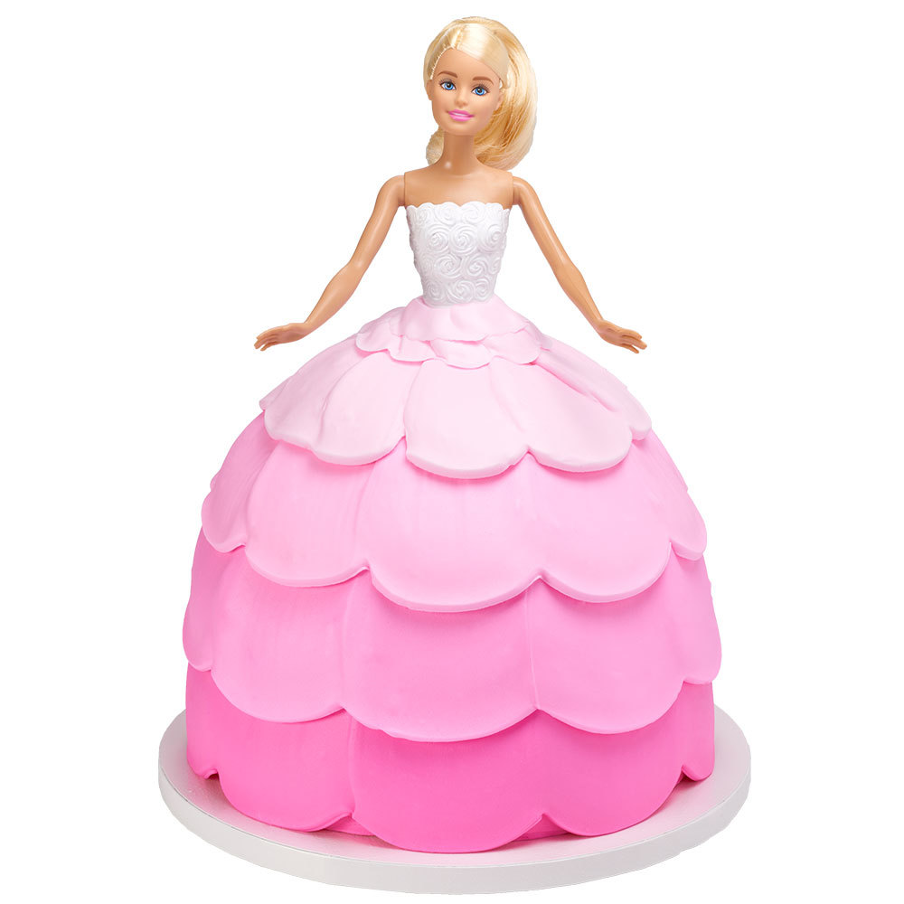 Barbie Let's Party Signature DecoSet® Cake Design