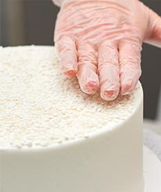 Adding Texture to Cake Designs Step 2 for Cake Decorators