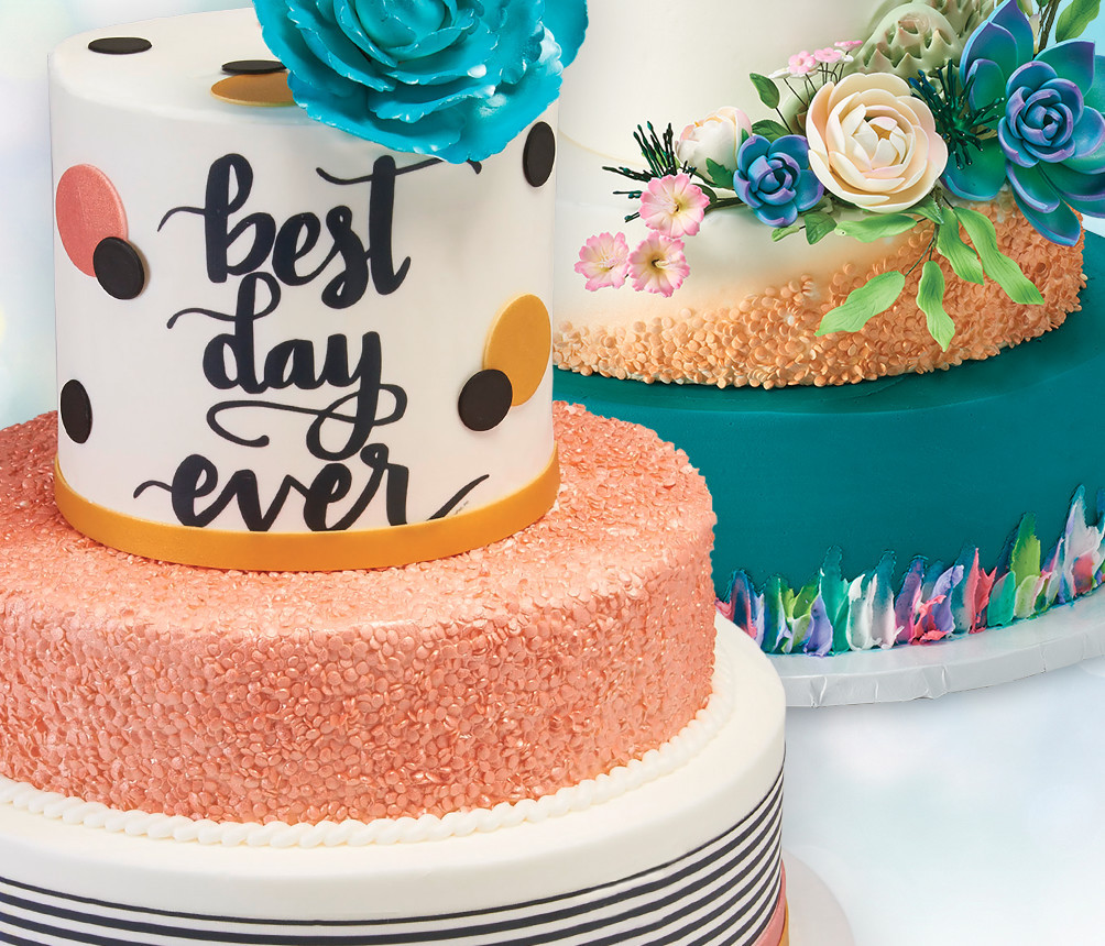 Cake Designs showing Depth and Texture Ideas for Cake Decorators