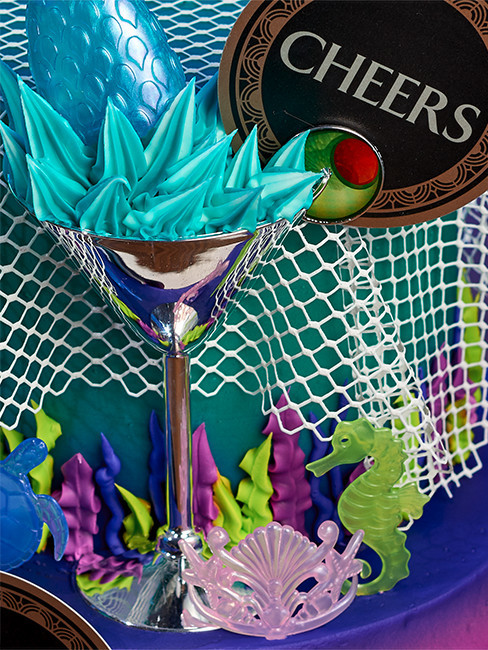 Mermaid Party Cake Decorations