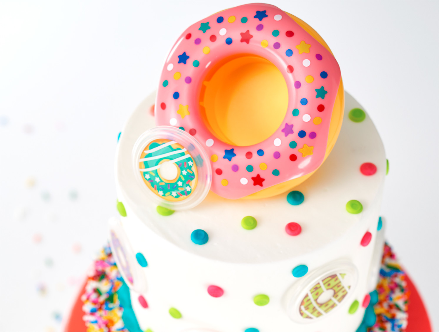 Confetti Donut DecoSet® for Cake Decorators