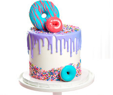 Drip Cake and Donuts Cake Design Ideas for Cake Decorators