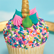Unicorn Cupcake Design for Cake Decorators