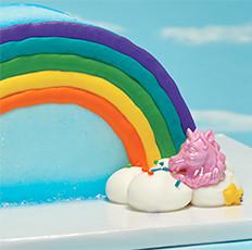 Unicorn and Rainbow Cake Design for Cake Decorators