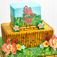 The Islands Are Calling: Tropical Cake Designs