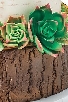 Using Nature to Inspire Wedding Cake Designs