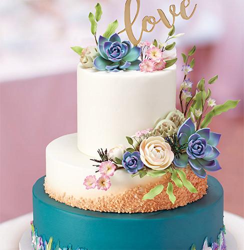 Unique Adventure Wedding Cake Decorations