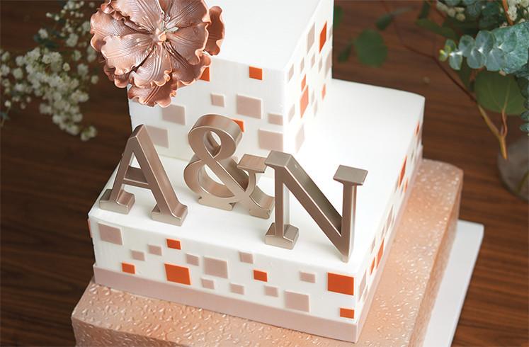 Urban Wedding Cake Design for Cake Decorations