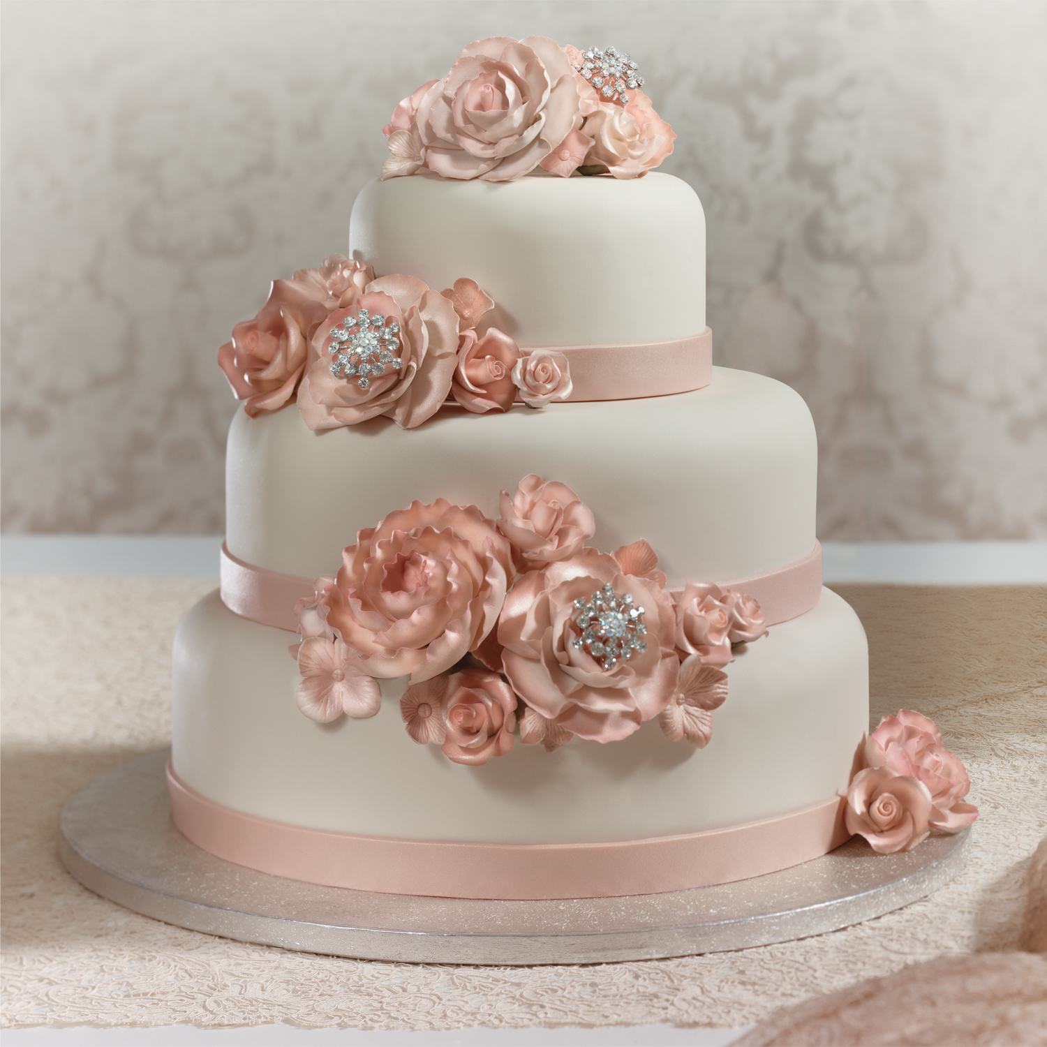 wedding cakes supplies blush wedding cake decopac 8922