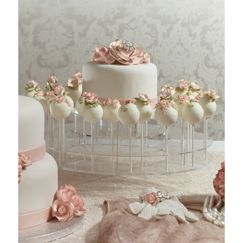 wedding cake pop decorations blush wedding cake pops decopac 23521
