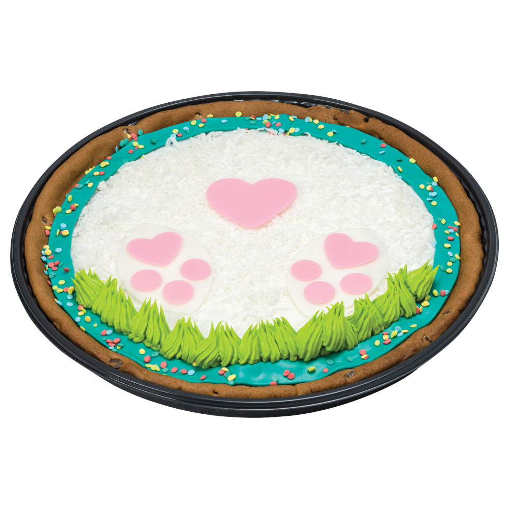 Bunny Footprints Cookie Cake Design