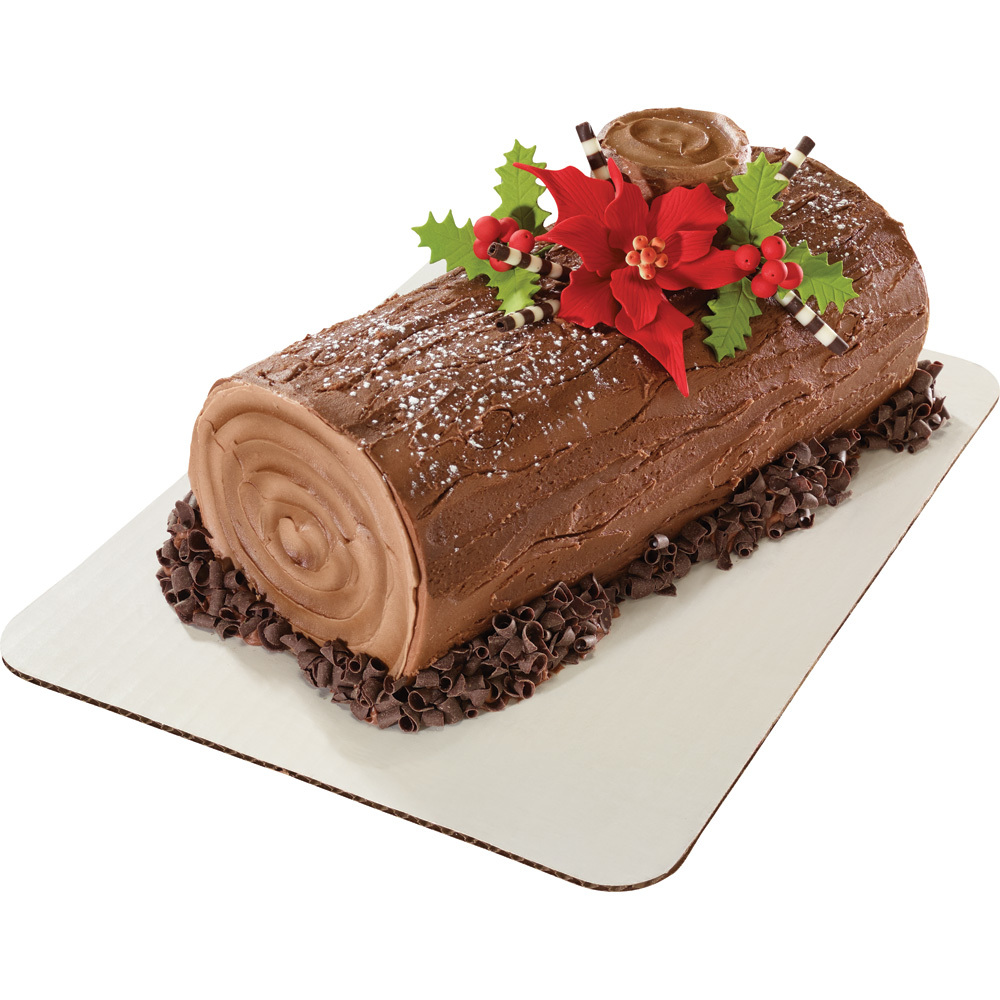Christmas Log Cake Design