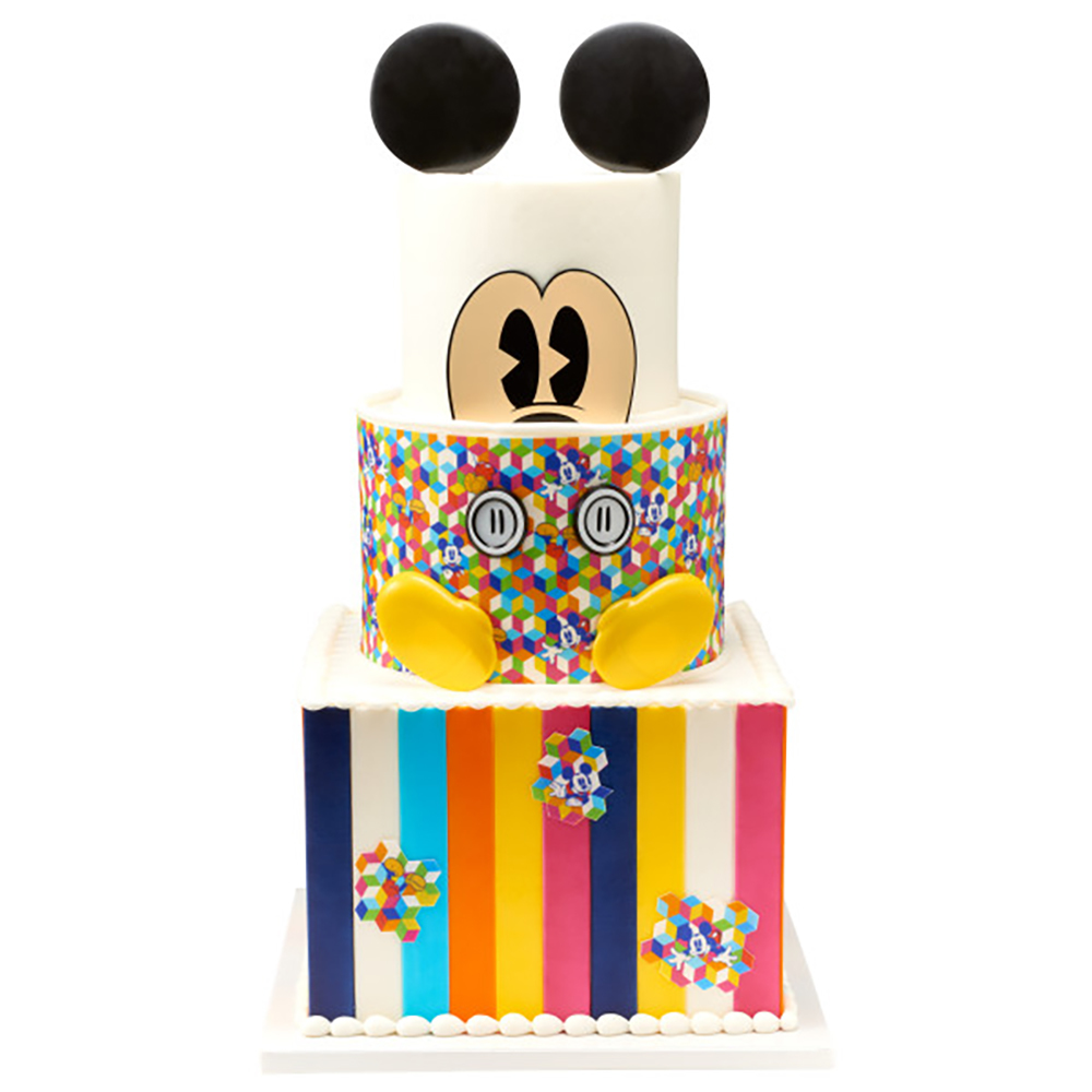 Classic Mickey Cake Design