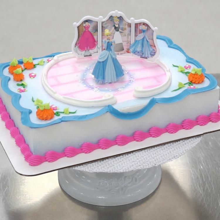 disney princess cinderella transforms decoset cake decopac