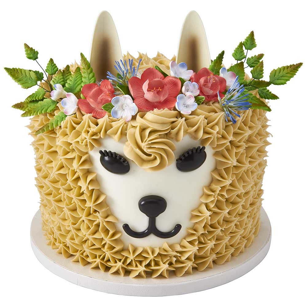 Double llama DecoSet® for Cake Decorations