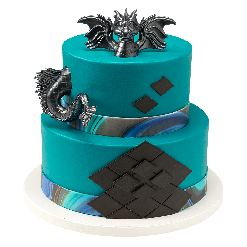 Dragon Creations Stacked Cake Design