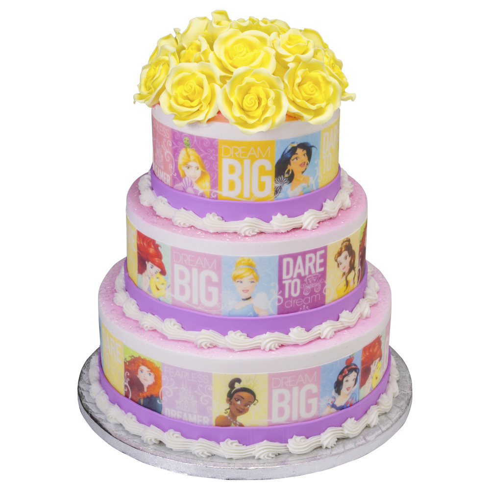 Dream Big, Princess Tiered Cake Design