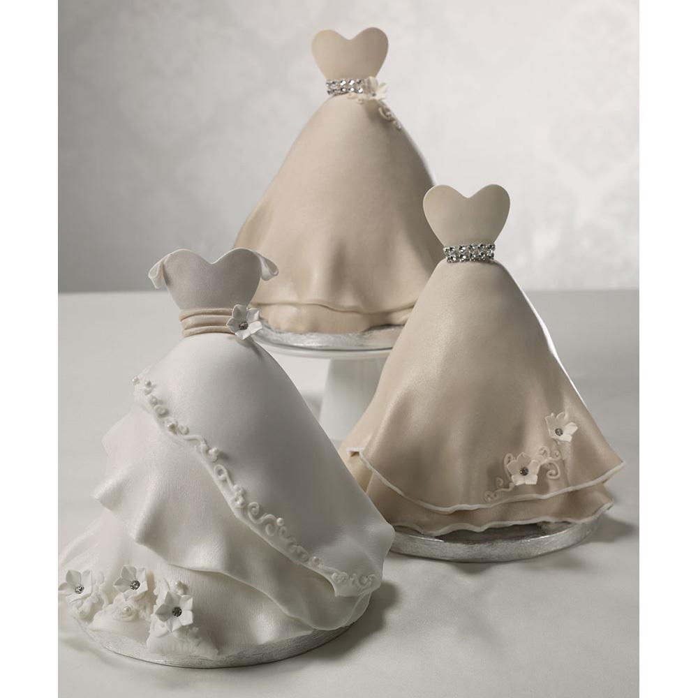 elegance bridal shower cake decorations