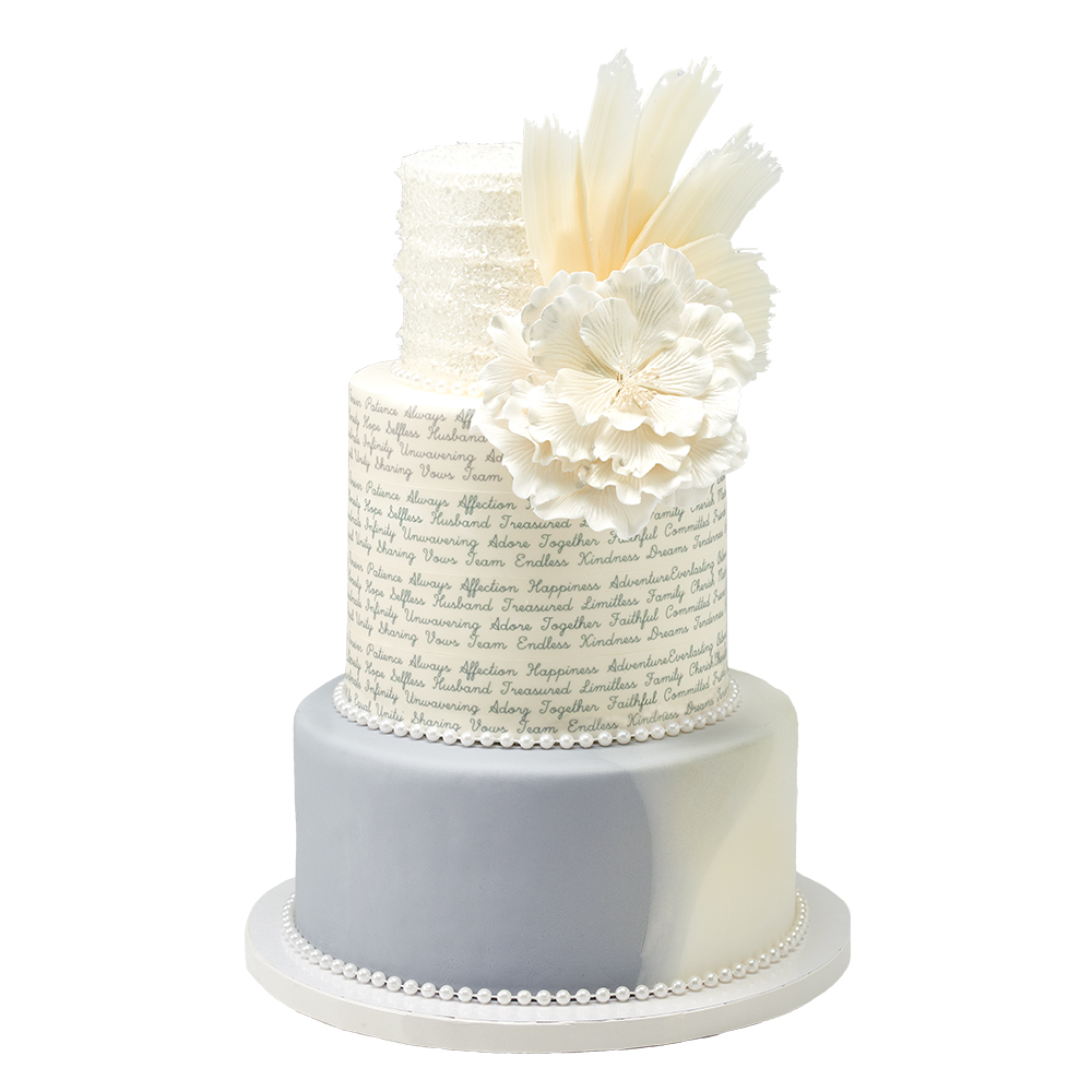 Elegant Wedding Cake Design