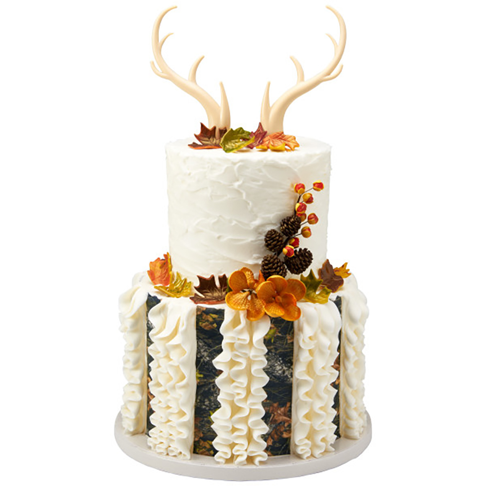 Fall Wedding Cake Design