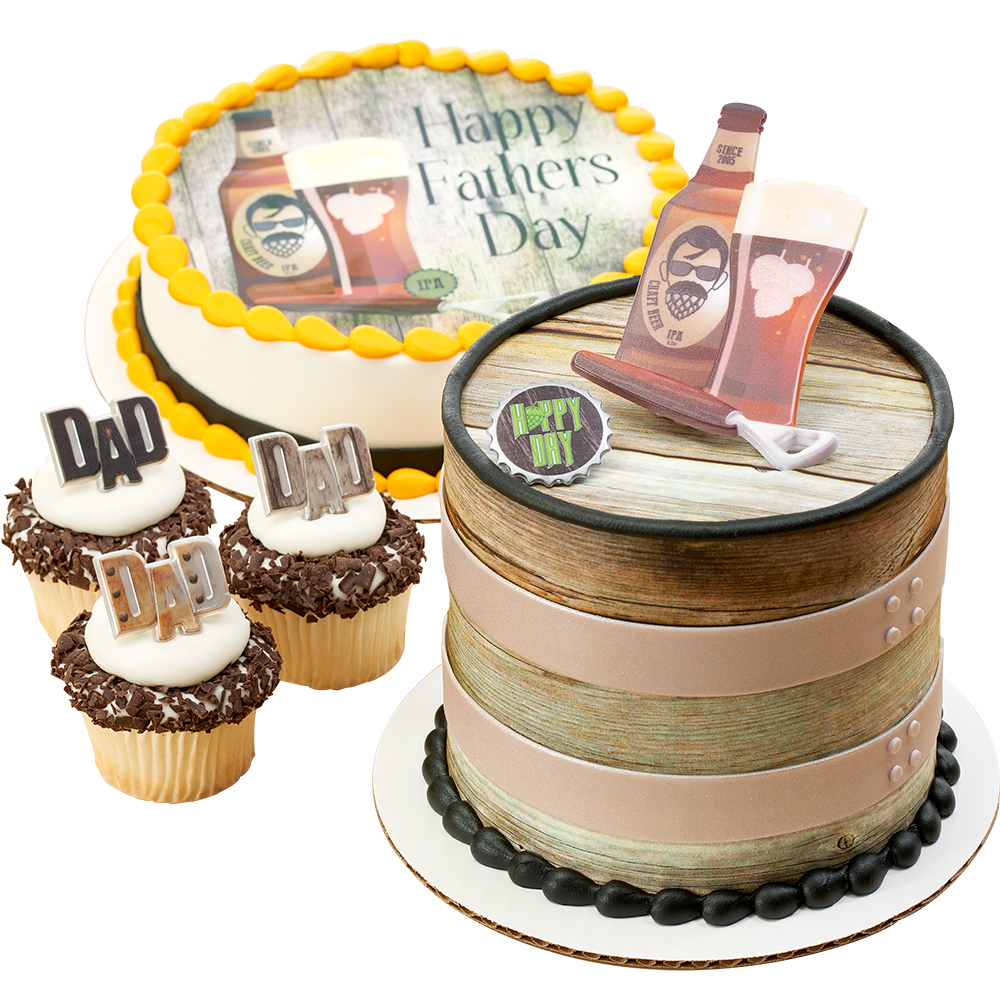 Father S Day Beards And Beers Cakes Decopac