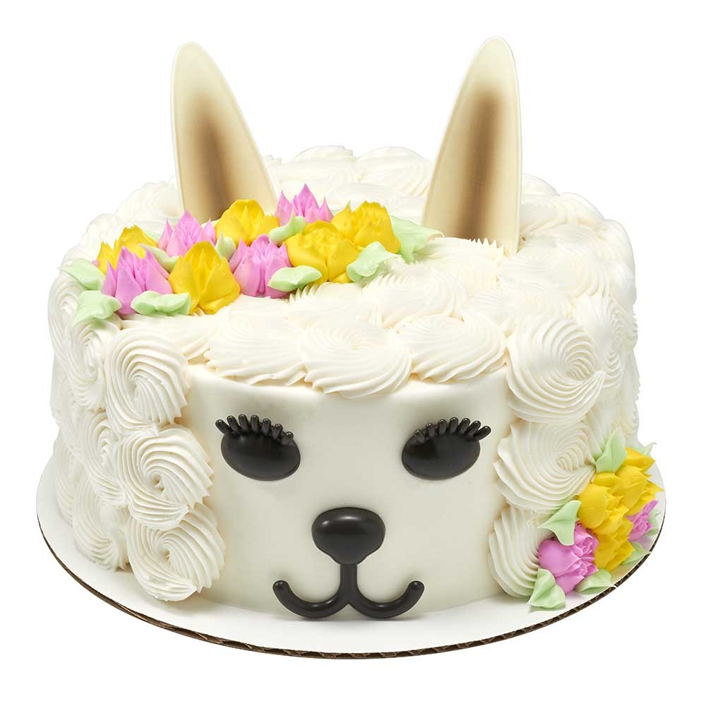 Floral Llama DecoSet® for Cake Decorations