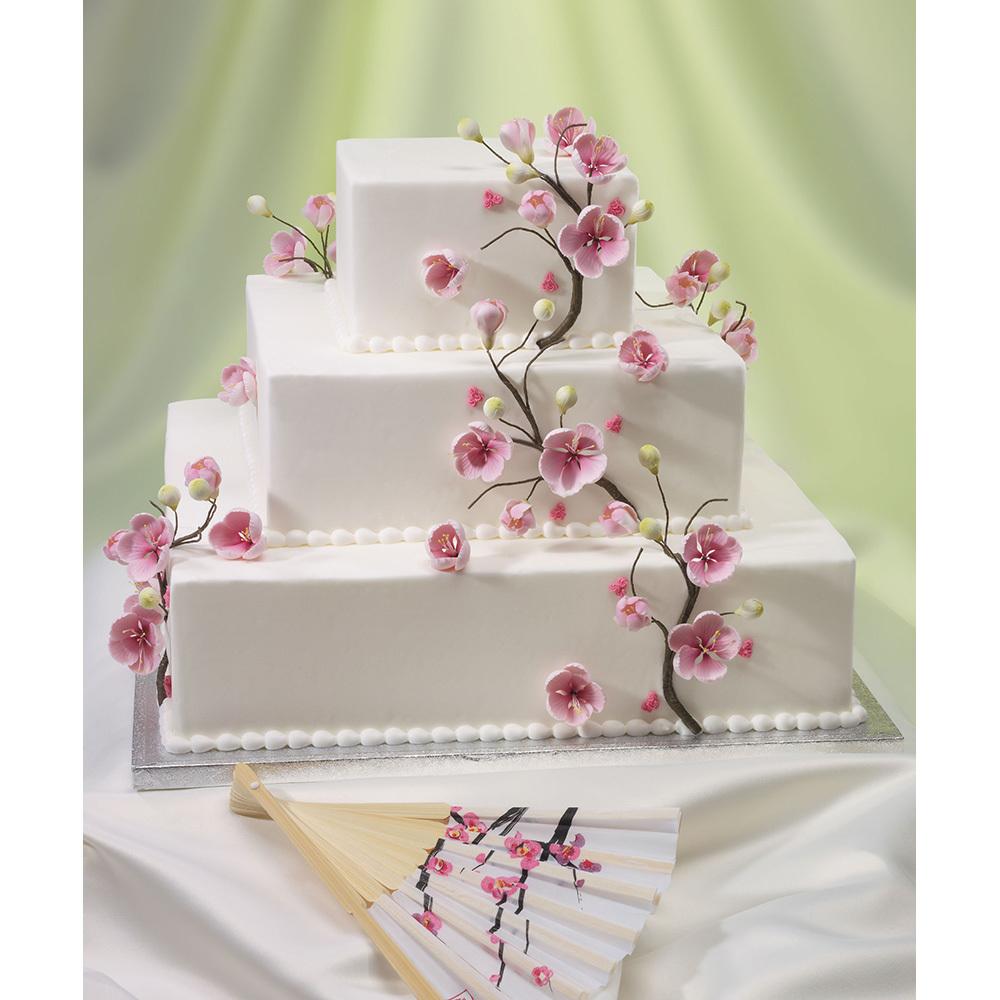 Flourish Wedding Cake Design