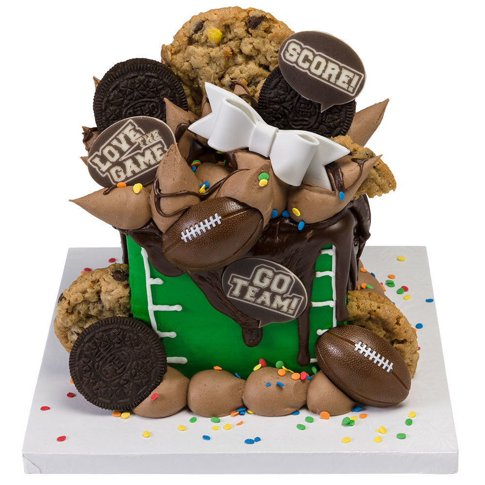 Football Small Cake Design
