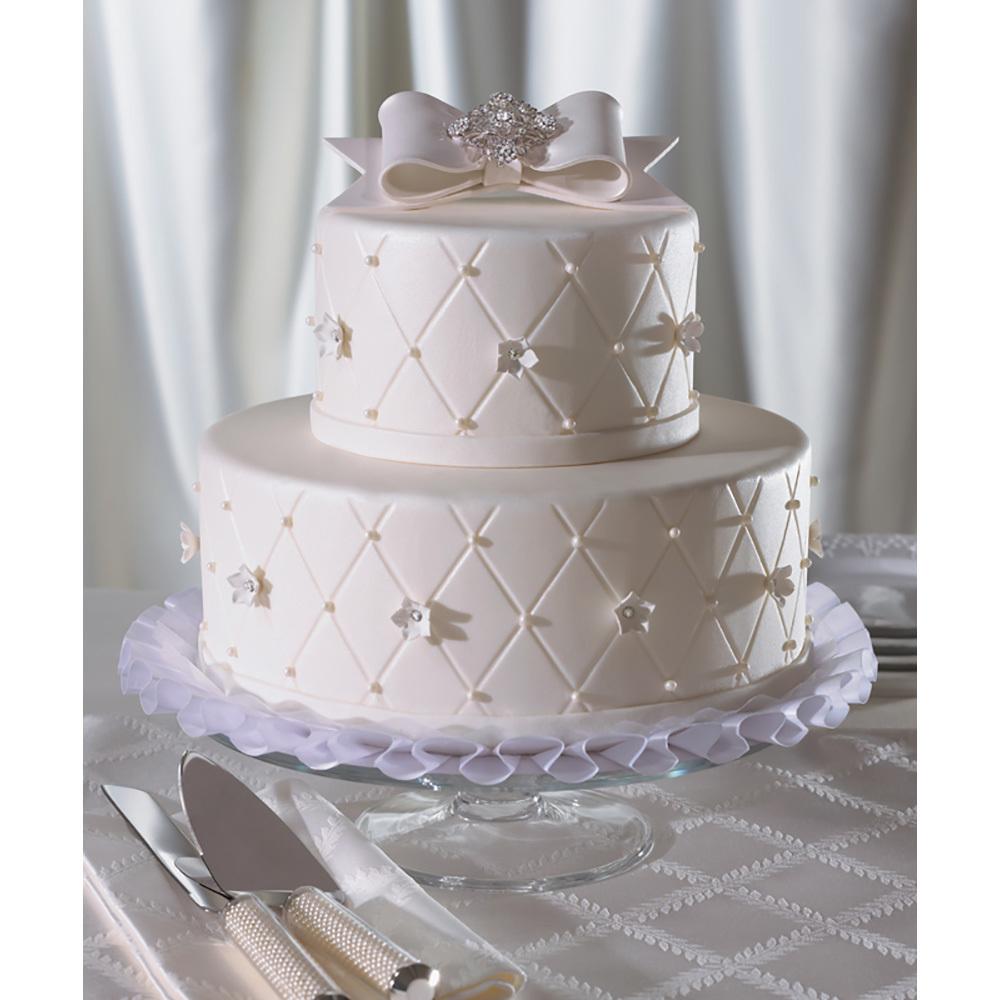 Cake Decorating Wedding Ideas: Forever Diamonds Wedding Cake Design