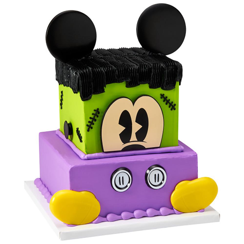 Franken Mickey Cake Design