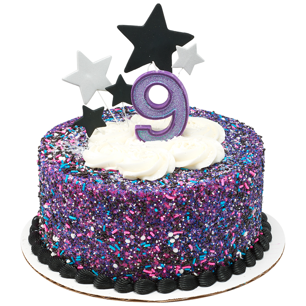 Galaxy Celebration Cake Design
