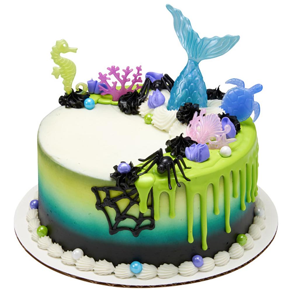 Gothic Mermaid Cake Design