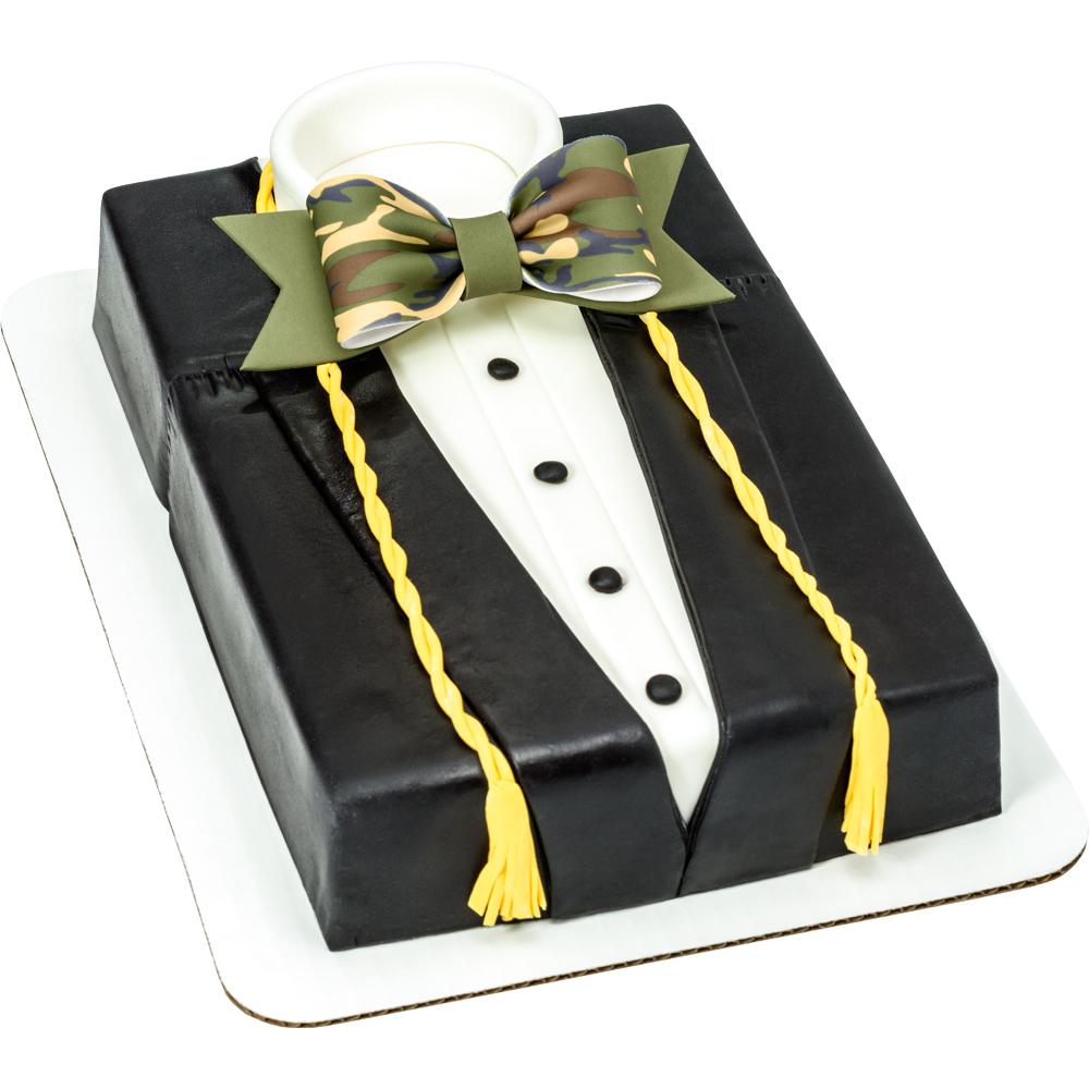Graduation Gown Sheet Cake