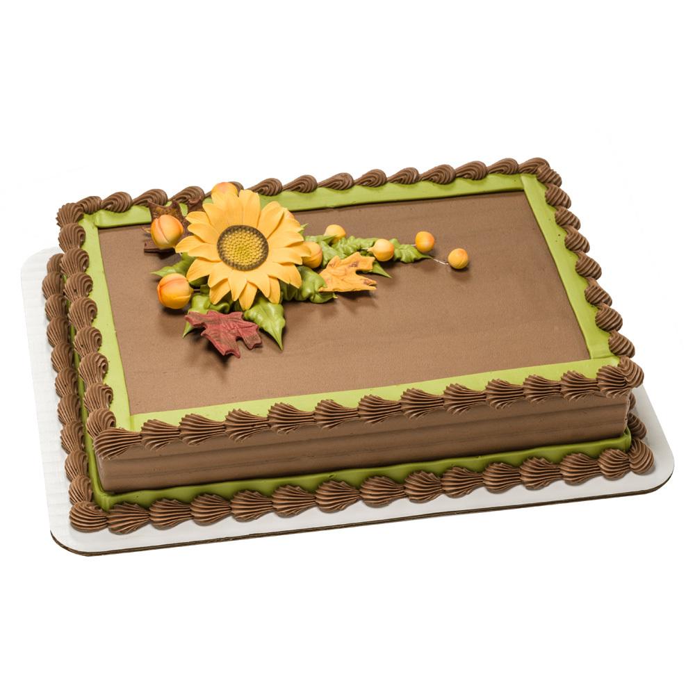 Gum Paste Sunflower Cake Design