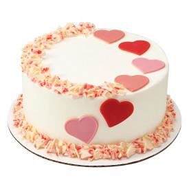 Heart Throb Cake Design