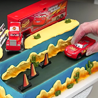 How to Create the Cars Built For Speed Signature DecoSet® Cake
