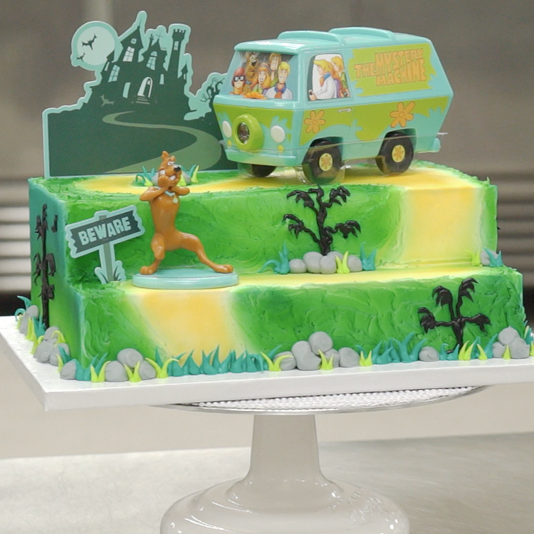How to Make a Cake with the Scooby Doo Mystery Machine Signature