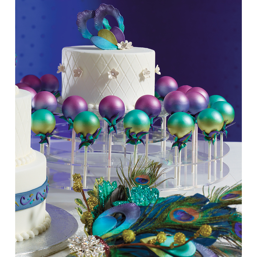 DecoPac Jewel Wedding Cake Pops