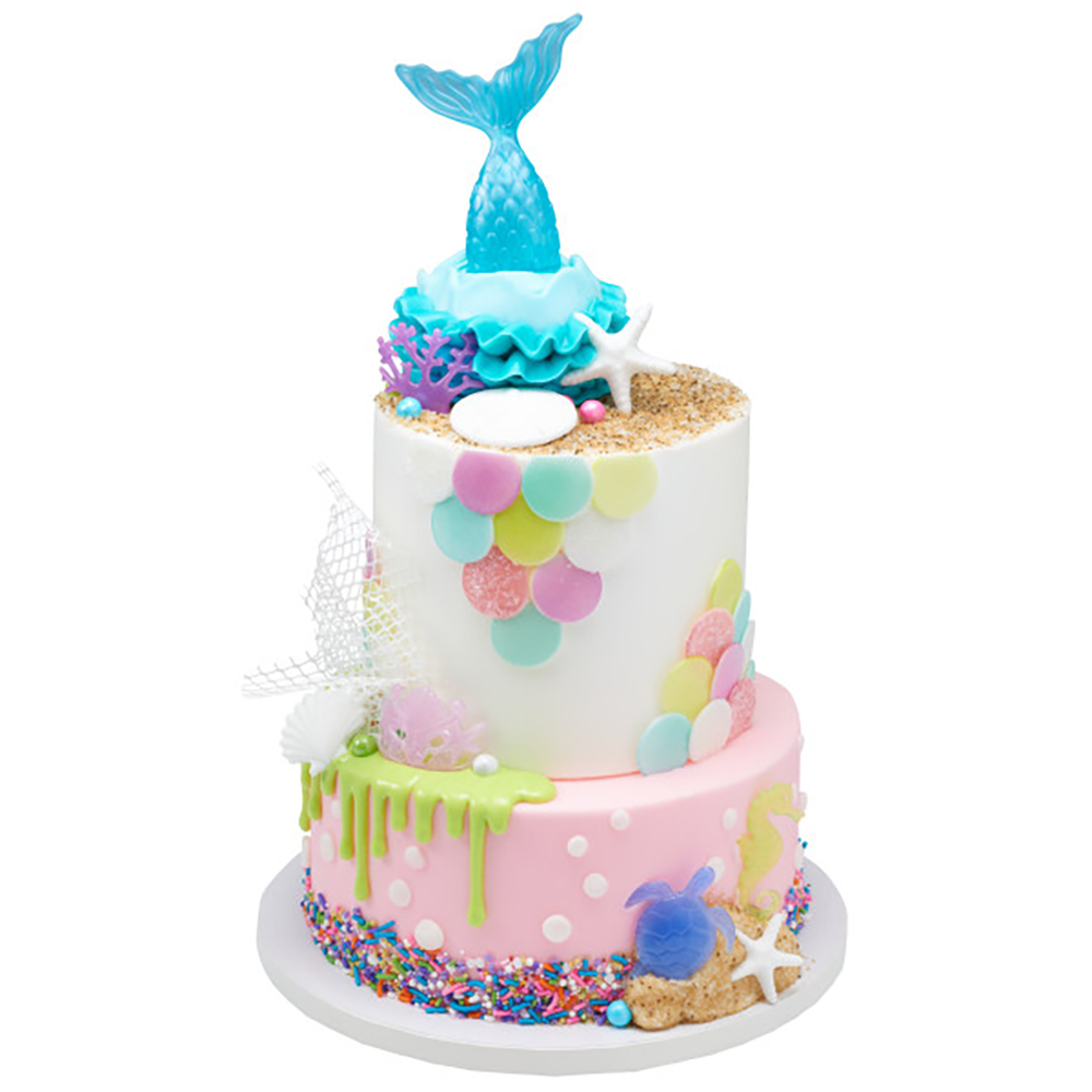 Magical Mermaid Cake Design