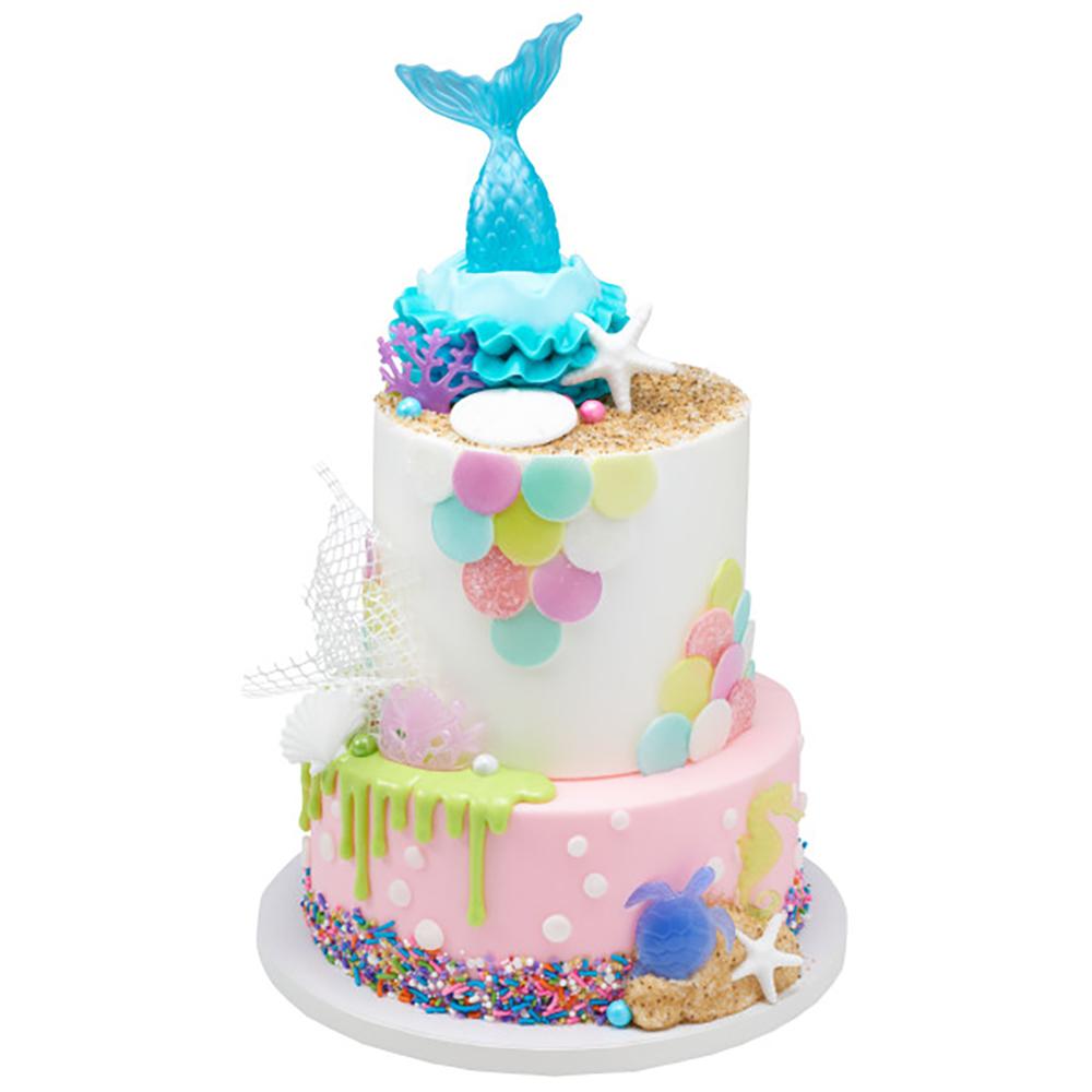 Magical Mermaid Cake Design