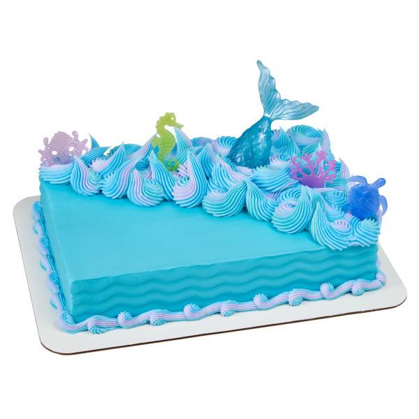 Mermaid Cake Decorations Bundle Decopac