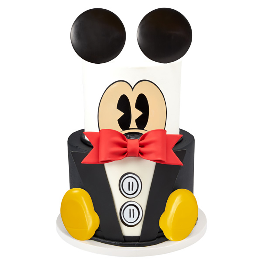 Mickey Wedding Cake Design