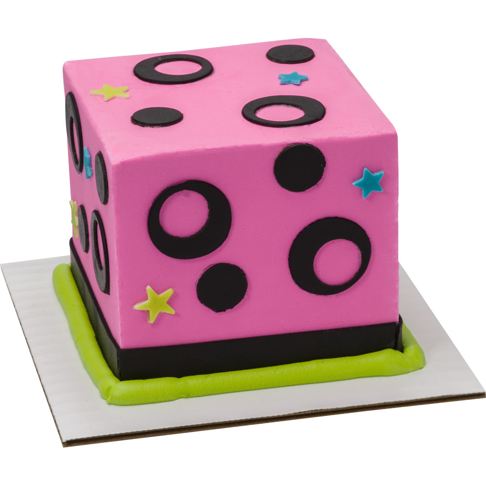 Mod Dots Cake Decorations